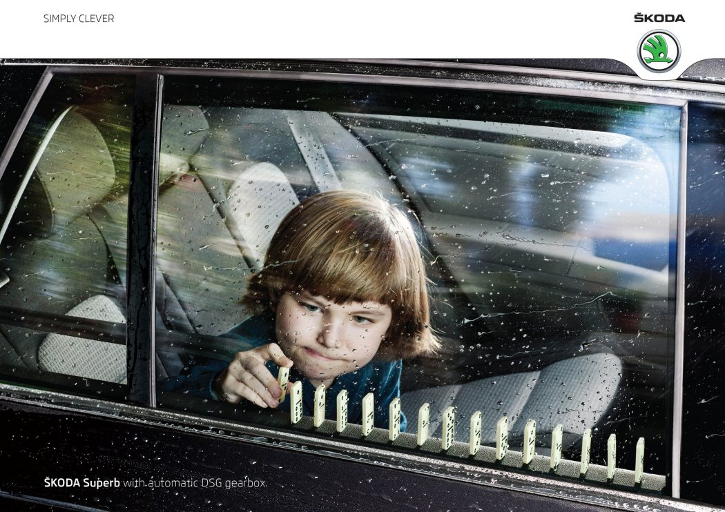 skoda-domino 40 Most Creative and Dazzling Auto Ads