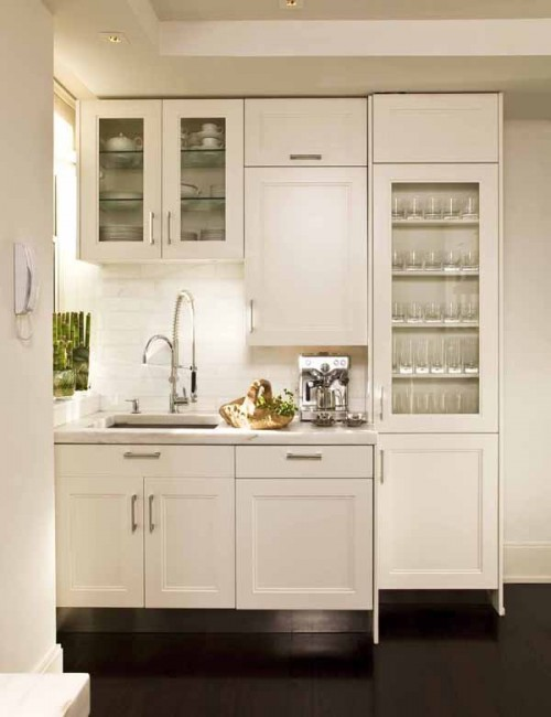 """small-kitchen-design-14-500x650 The Problem Of Your Small Kitchen Solved By the """" Compact """" Design"""