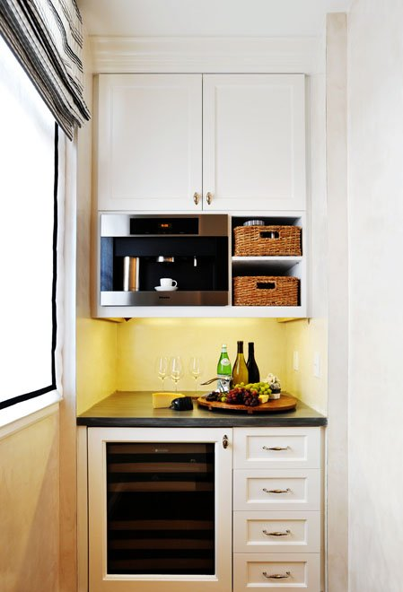 """small-kitchen-design-18 The Problem Of Your Small Kitchen Solved By the """" Compact """" Design"""