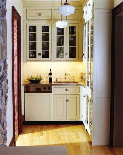 "small-kitchen-design-34 The Problem Of Your Small Kitchen Solved By the "" Compact "" Design"