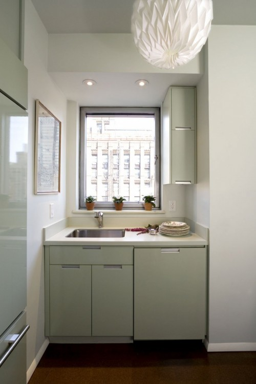 """small-kitchen-design-9-500x750 The Problem Of Your Small Kitchen Solved By the """" Compact """" Design"""