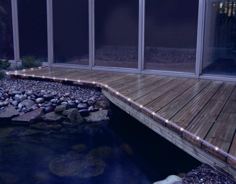 solar-rope-lights LEDs 10 uses in Architecture