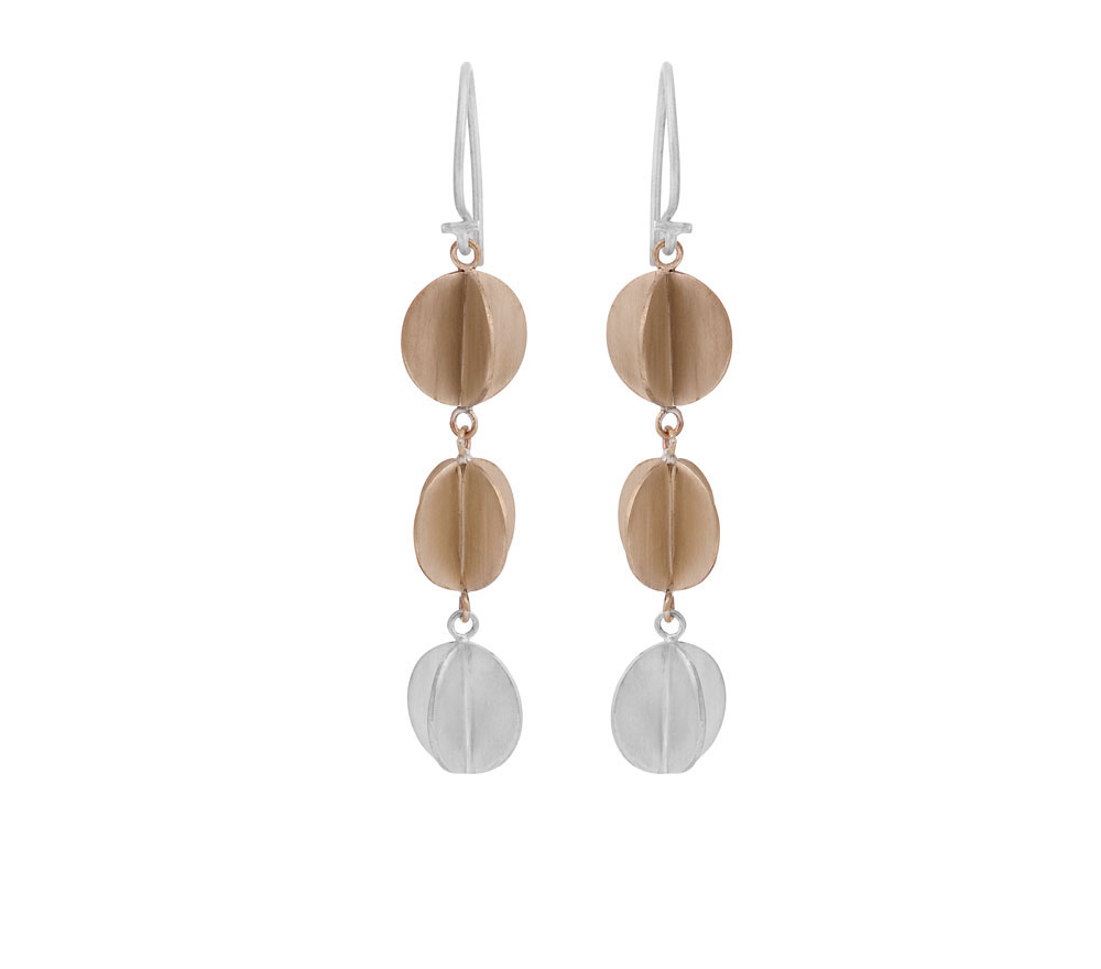 sphere-one-silver-and-two-brass 15 Most Stylish Architectural Jewelry