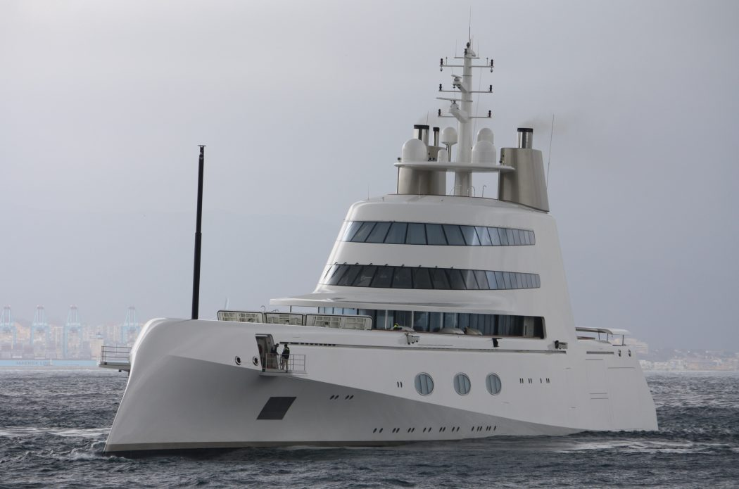 super-yacht 15 Most luxurious Yachts in The World