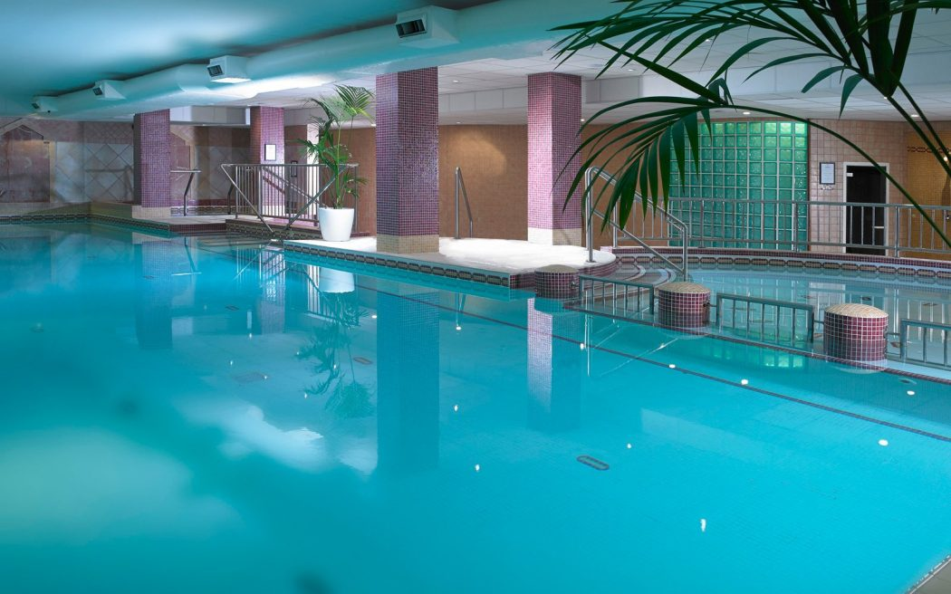 hotel with swimming pool in room interior decorating las vegas