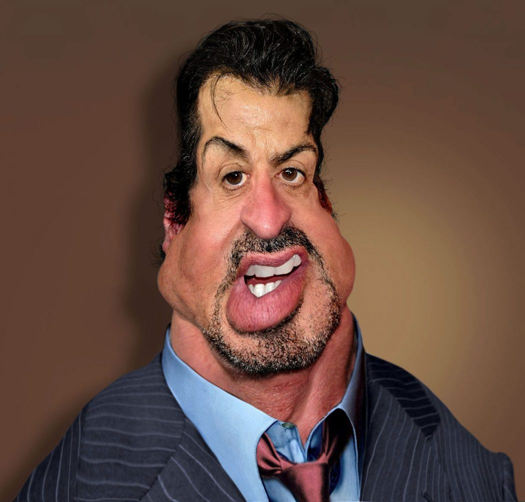 sylvester-stallone Do You Know How To Draw Caricatures?