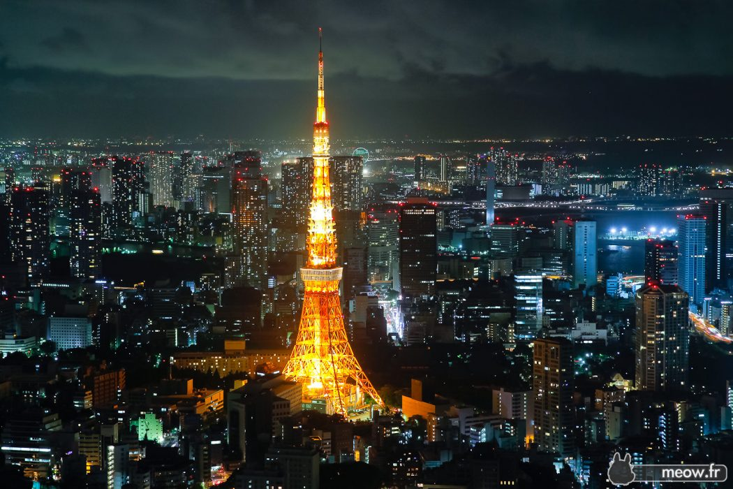 tokyo-tower-night-roppongi-hills Top 10 Most Expensive Cities in The World