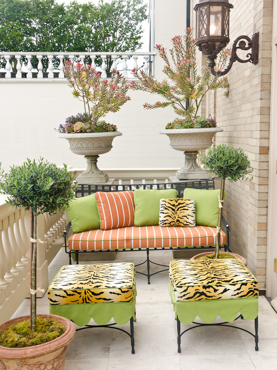 traditional-patio How Do You Choose Your Balcony Furniture?