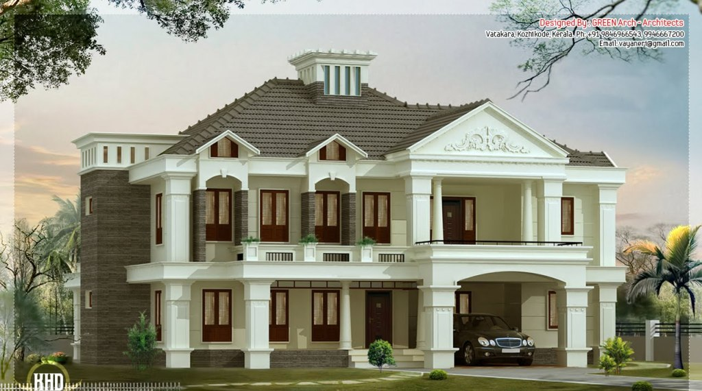 victorian-villa Top 3D Architecture Modeling