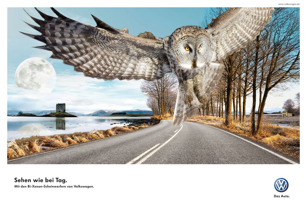 volkswagen-ads-02 40 Most Creative and Dazzling Auto Ads