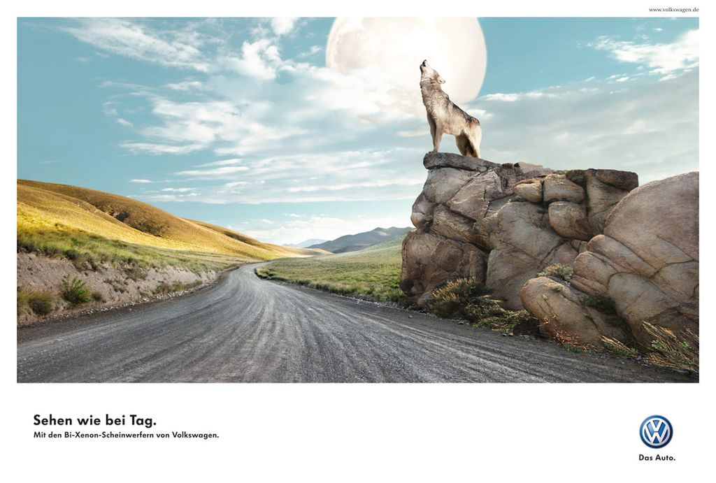 volkswagen-ads-03 40 Most Creative and Dazzling Auto Ads