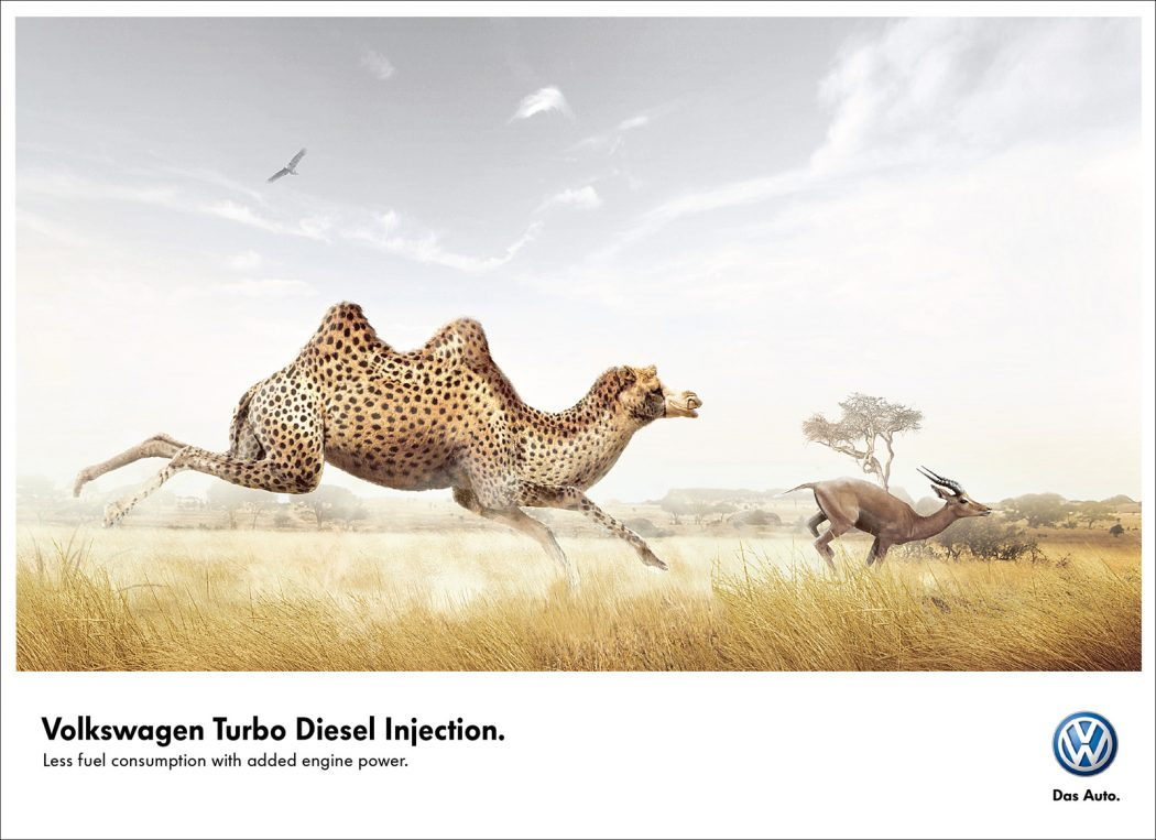 volkswagen. 40 Most Creative and Dazzling Auto Ads