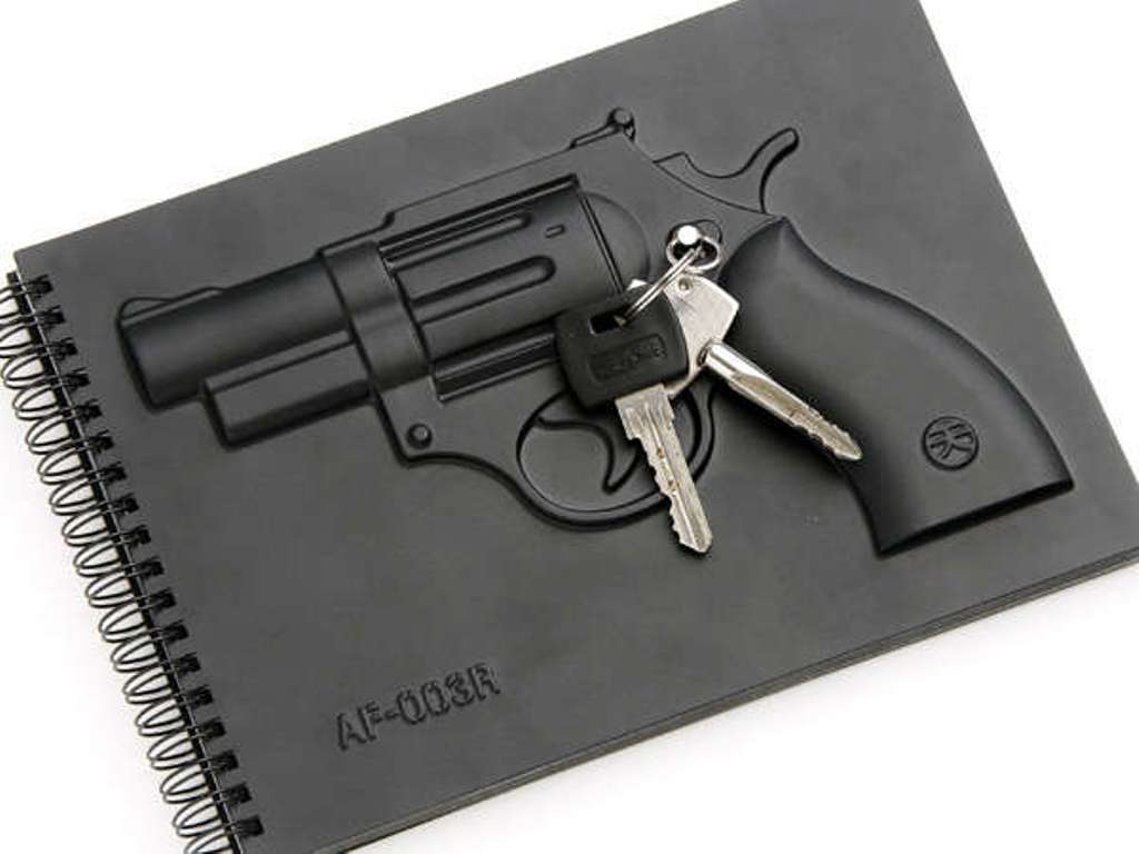 weapon-inspired-notebooks-6 Creative and Unique Notebooks for Mitigating Your Anger