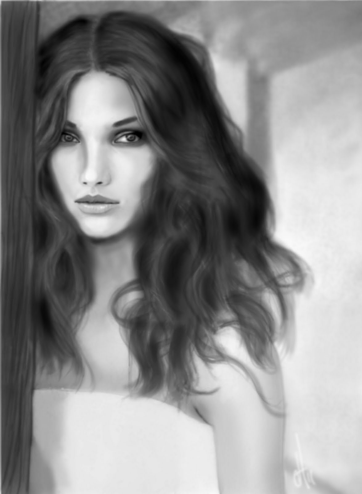 woman.. Stunningly And Incredibly Realistic Pencil Portraits