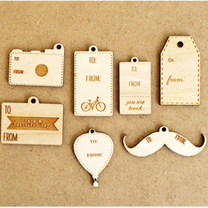 wooden 10 Most Unique and Amazing Gift Tags