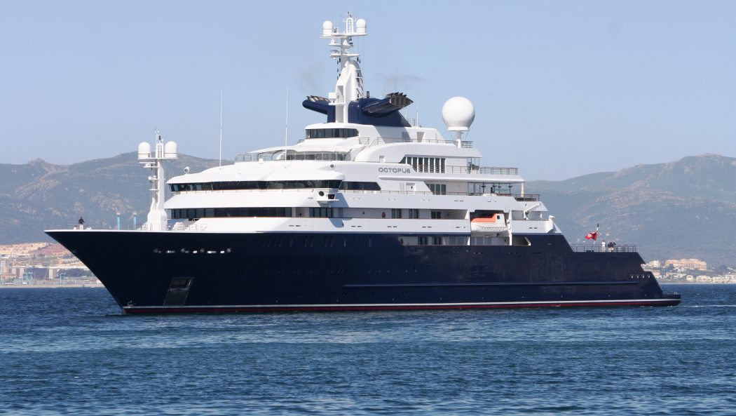 yacht-octopus 15 Most luxurious Yachts in The World