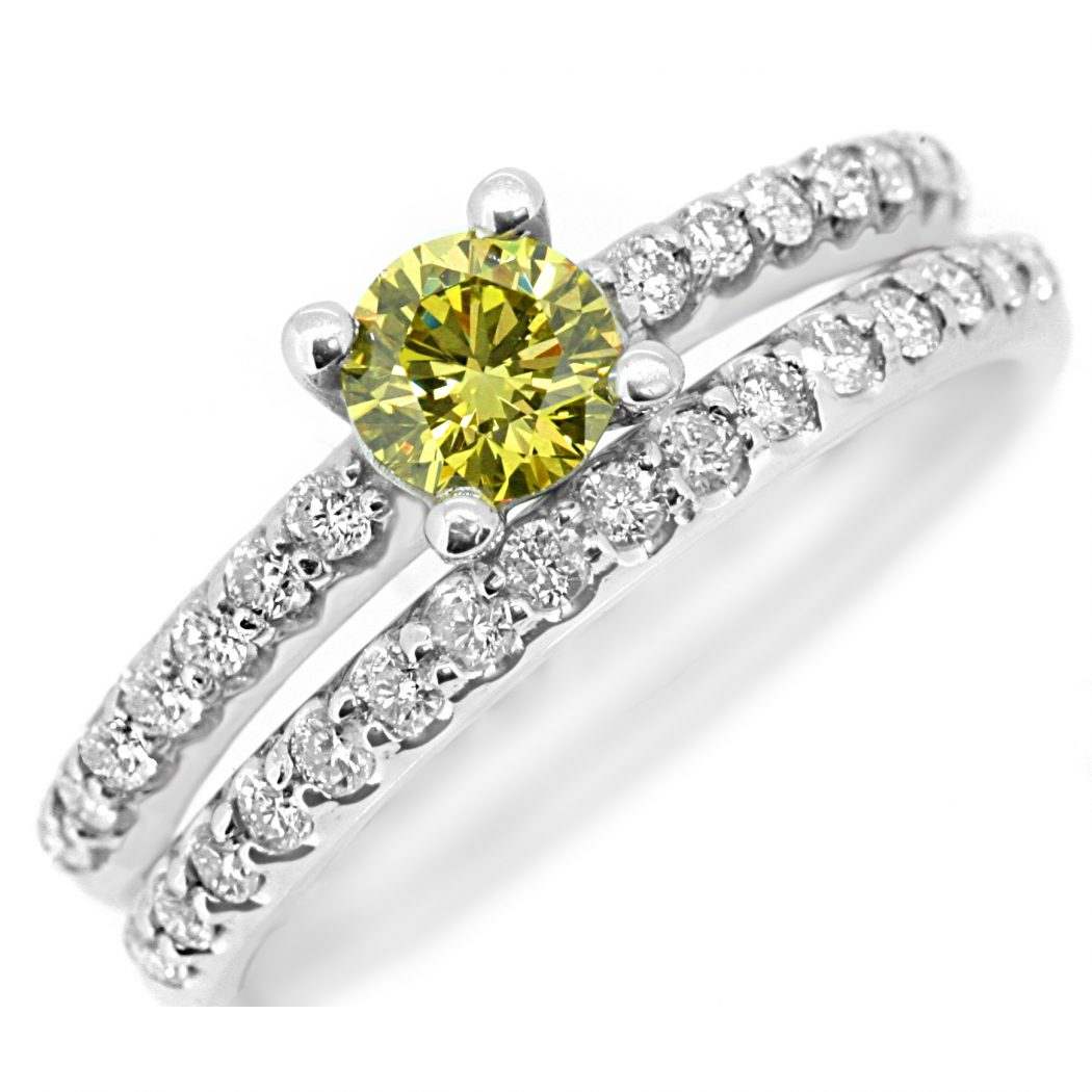 yellowdiamondringset What Do You Say about These Rare and Precious Rings?!