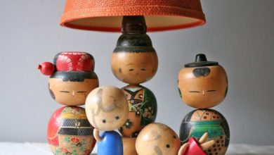 Photo of Bring Good Luck With Kokeshi Lamps!
