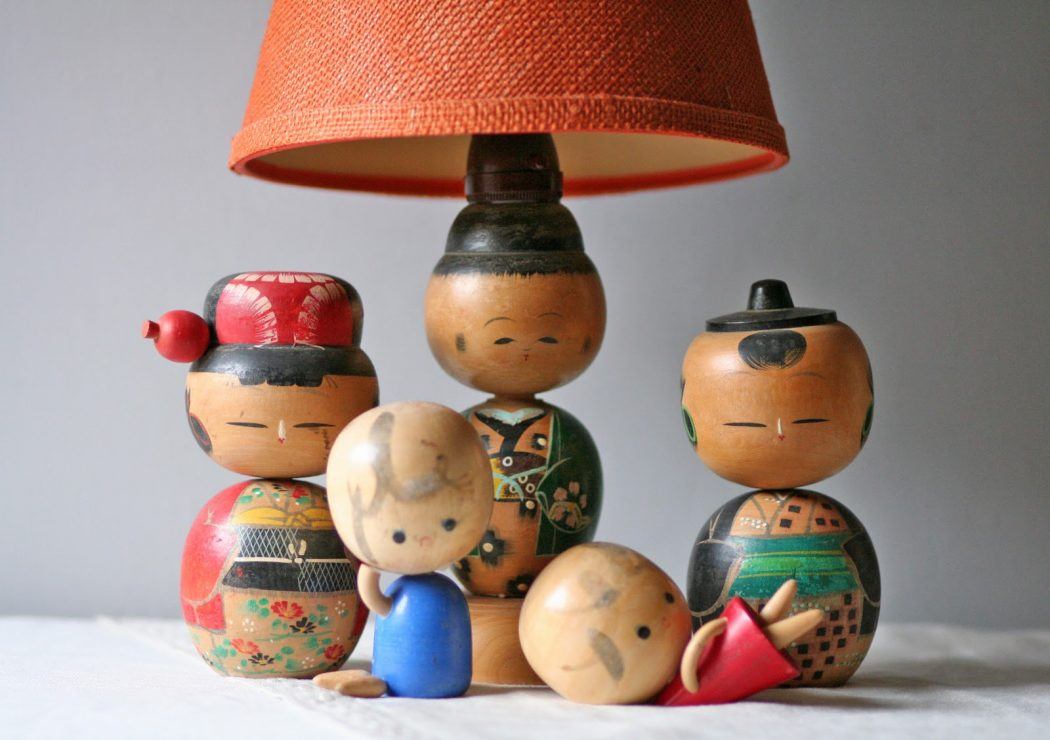 z2d Bring Good Luck With Kokeshi Lamps!