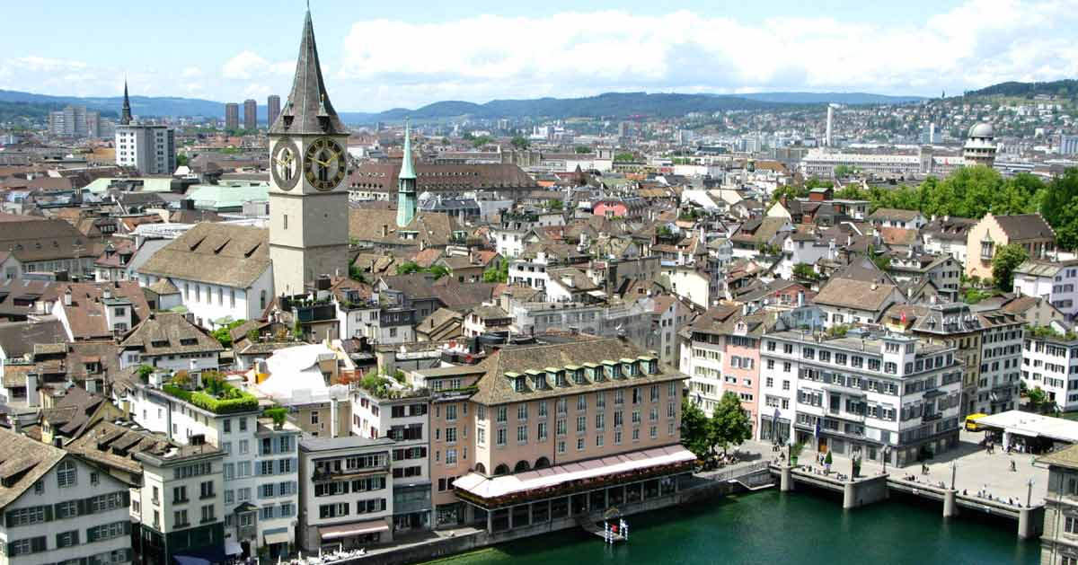 zurich Top 10 Most Expensive Cities in The World