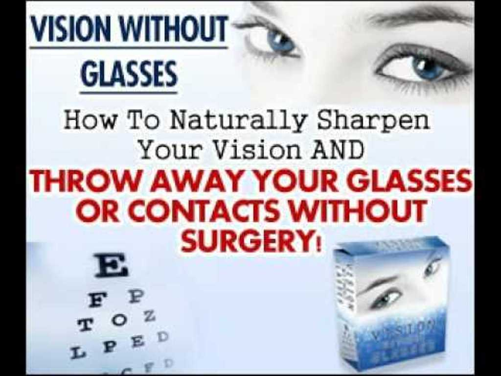 01 Do You Believe That You Can Restore Your Vision Naturally?