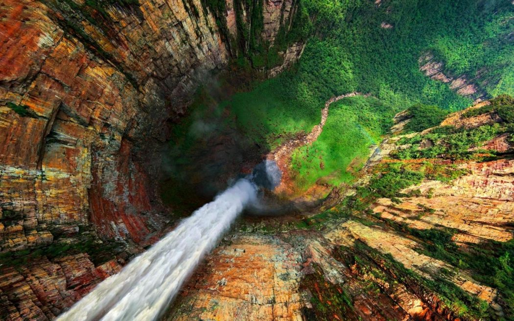 amazing angel falls venezuela