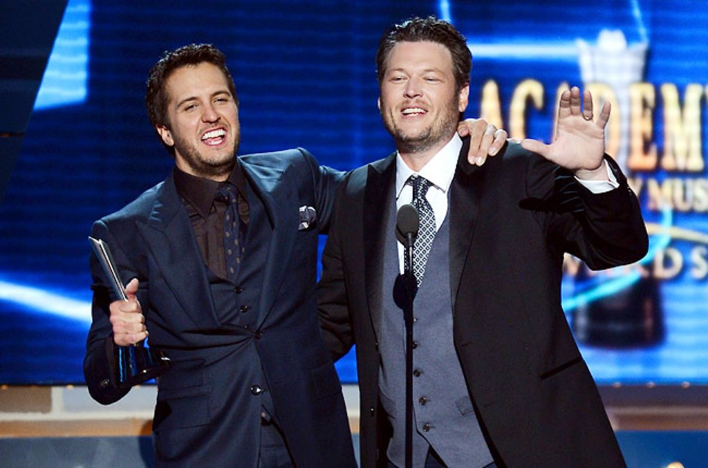 2-acm-awards-2013-luke-bryan-and-blake-shelton Best 10 Images for Awards in 2013