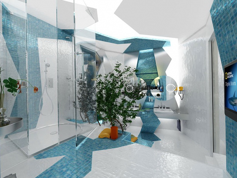 2-bathroom-concepts-by-gemelli-design Fabulous And Stunning Colorful Bathrooms to Renew Yours