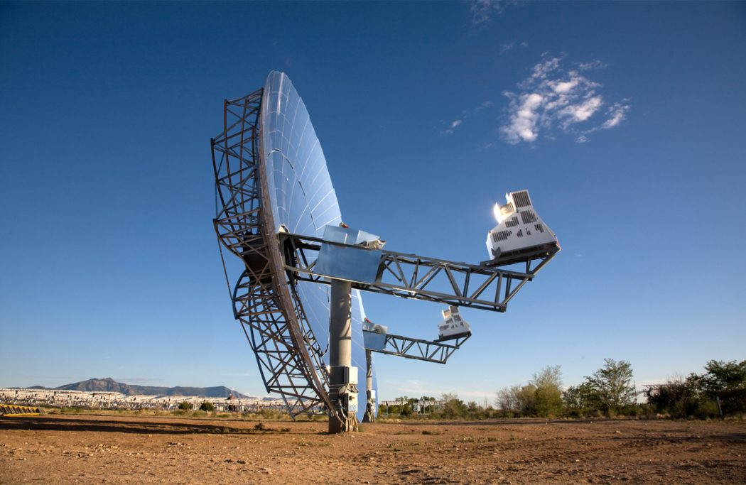 6-Sterling-dish-Solar Creative Trick to Reduce Your Electric Bills By 75% Using Solar Stirling Plant