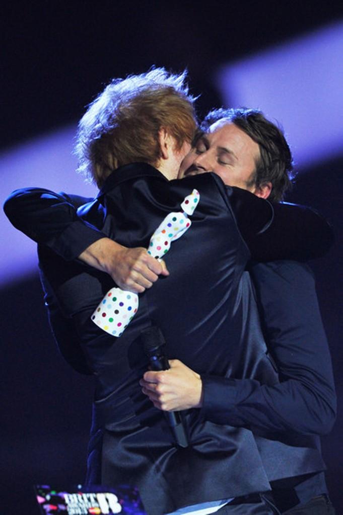 9-Ed+Sheeran+Brit+Awards+2013 Best 10 Images for Awards in 2013
