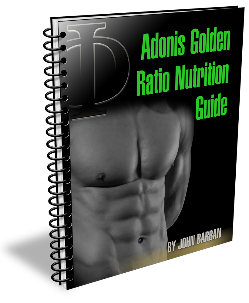"""AdonisGoldenRatioNutritionGuideManual Burn Your Belly Fat By Using """"Adonis Golden Ratio"""" System"""