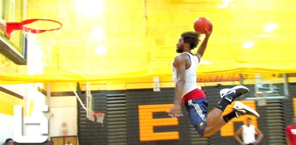 Anthony-Smith-Two-Feet-Free-Throw-Line-Dunk How to Increase Your Vertical Jump?