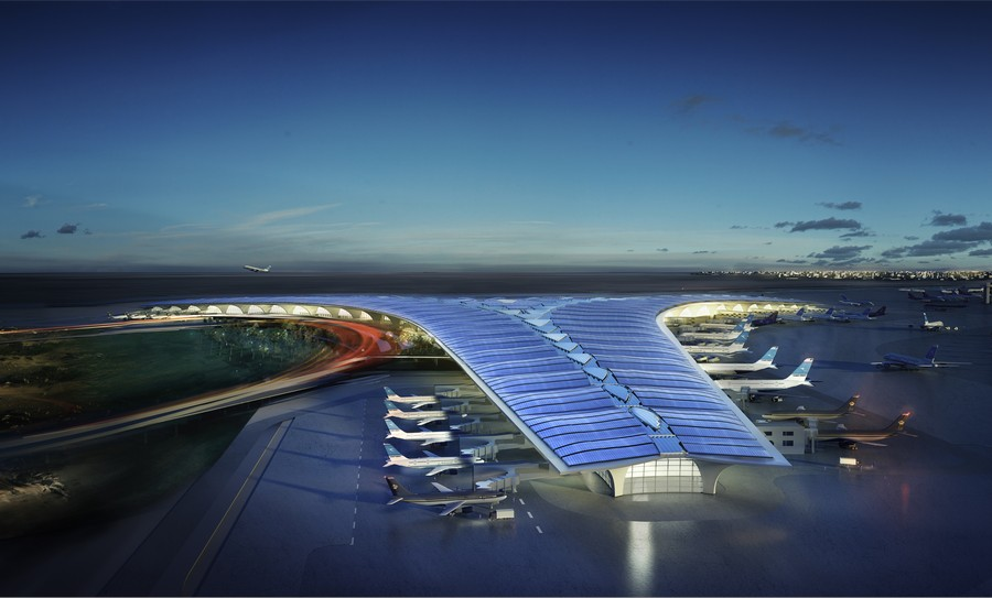 Arch2o-Kuwait-International-Airport-Terminal-Foster-+-Partners-13 Top 10 Richest Countries
