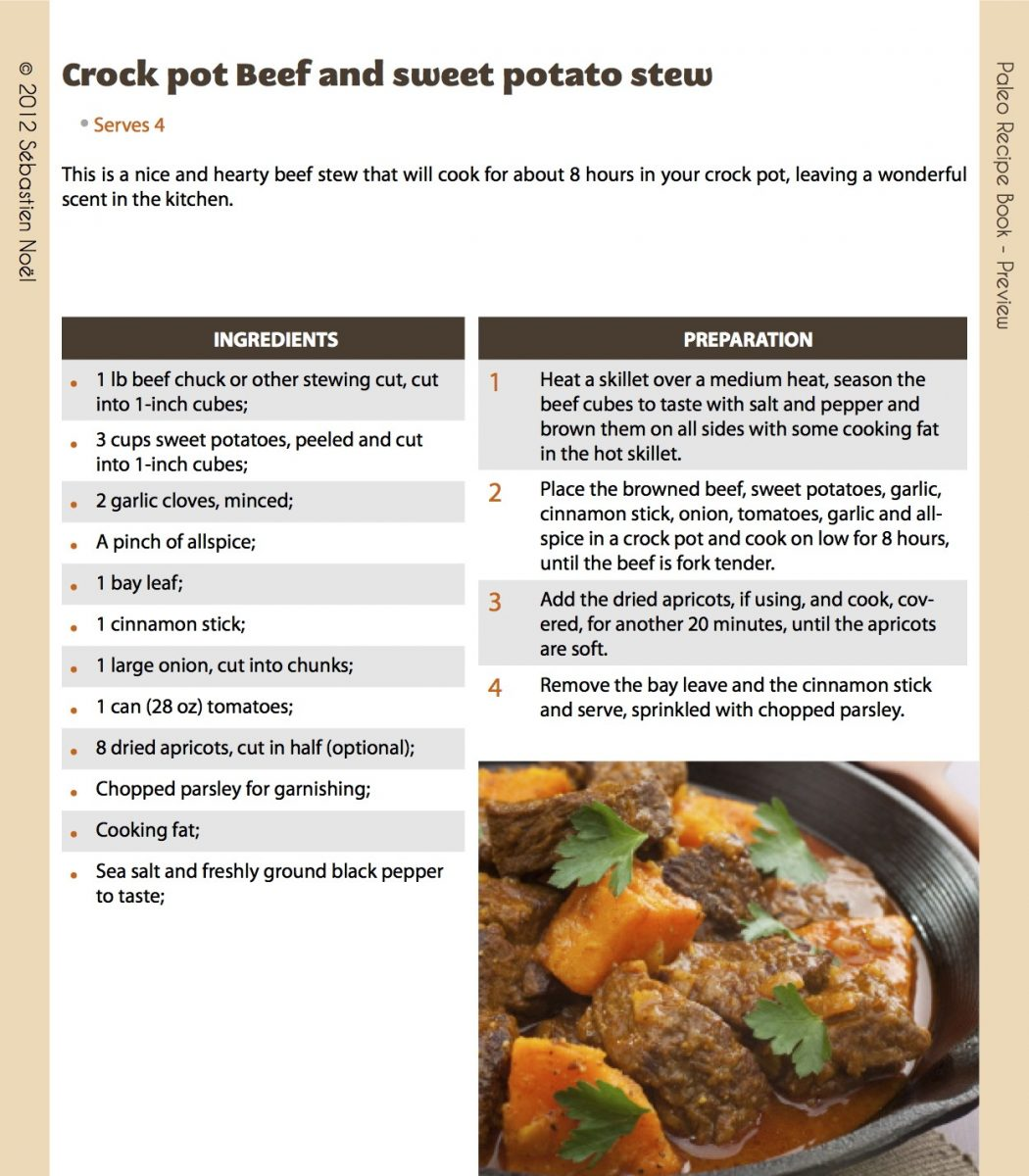 BeefSweetPotatoStewCropped Lose Weight Easily, Be in Great Shape and More Energetic Using This Paleo Guide