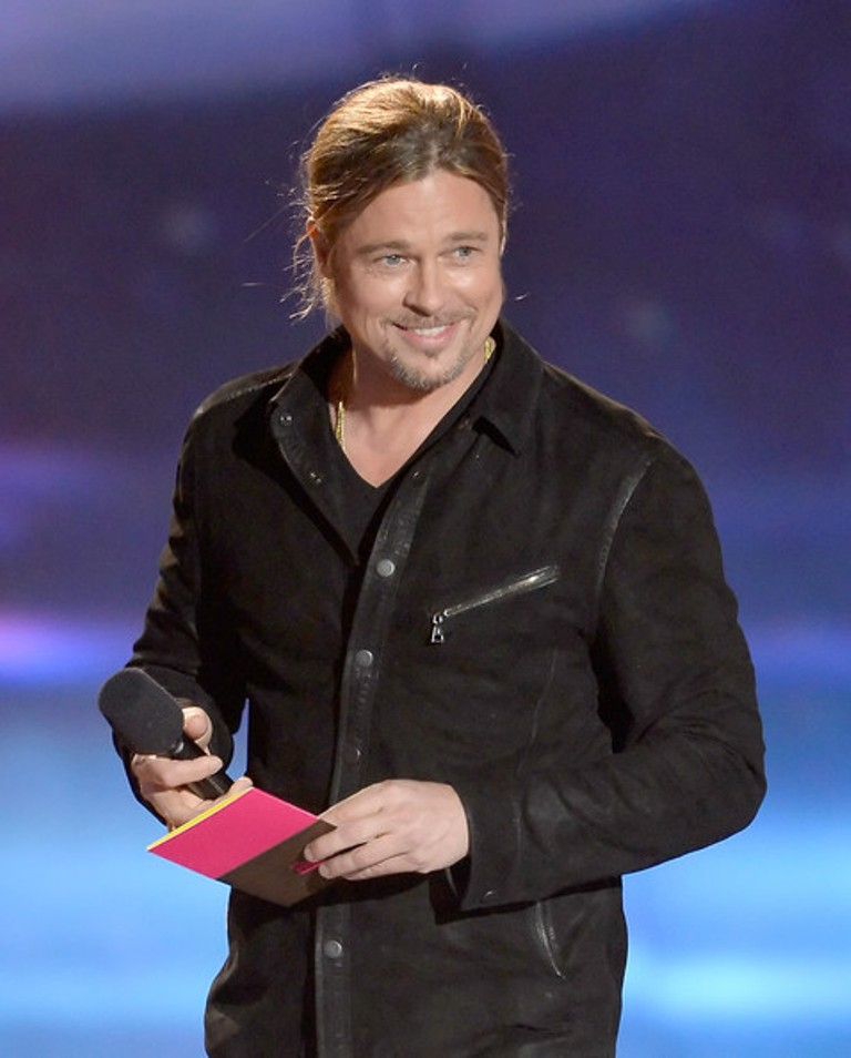 Brad+Pitt+2013+MTV+Movie+Awards+Show The 10 Most Famous Male Actors with Awards