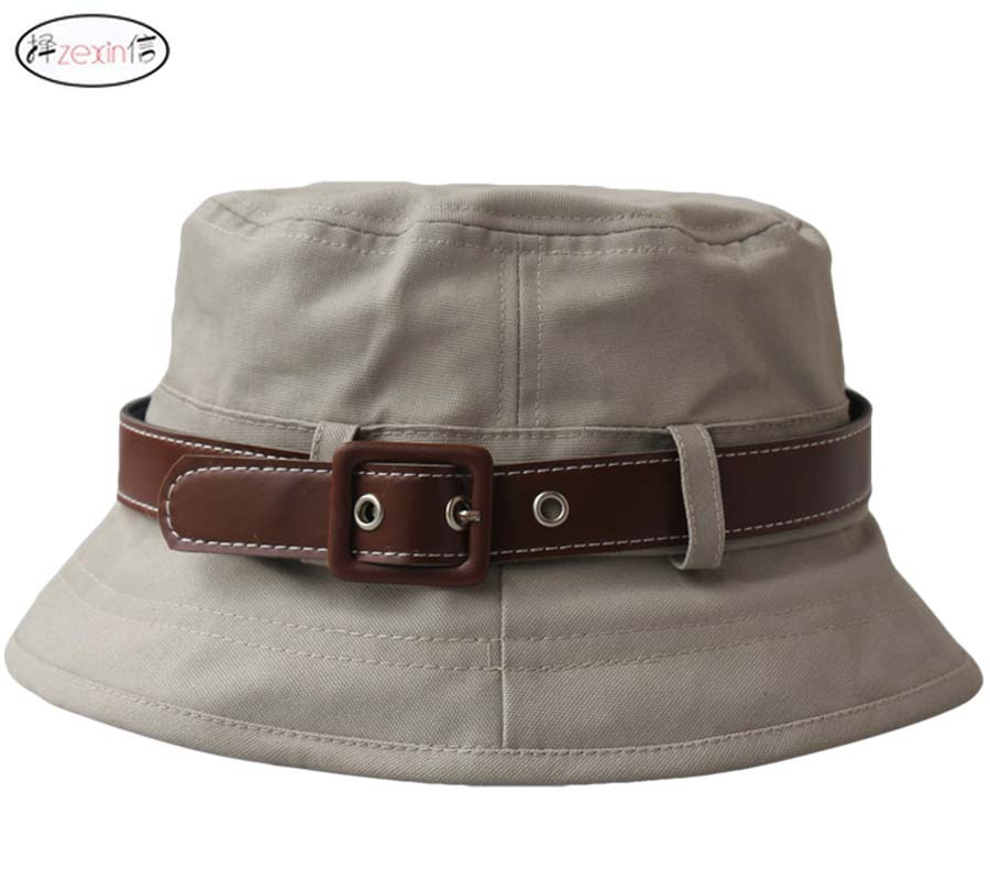 Buckle-font-b-bucket-b-font-font-b-hat-b-font-sun-font-b-hat-b What Are The Latest Fashion Trends of Men's Hats?