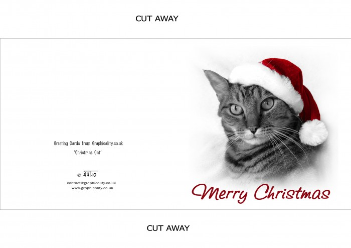ChristmasCat1Print 50 Most Stylish printable greeting cards