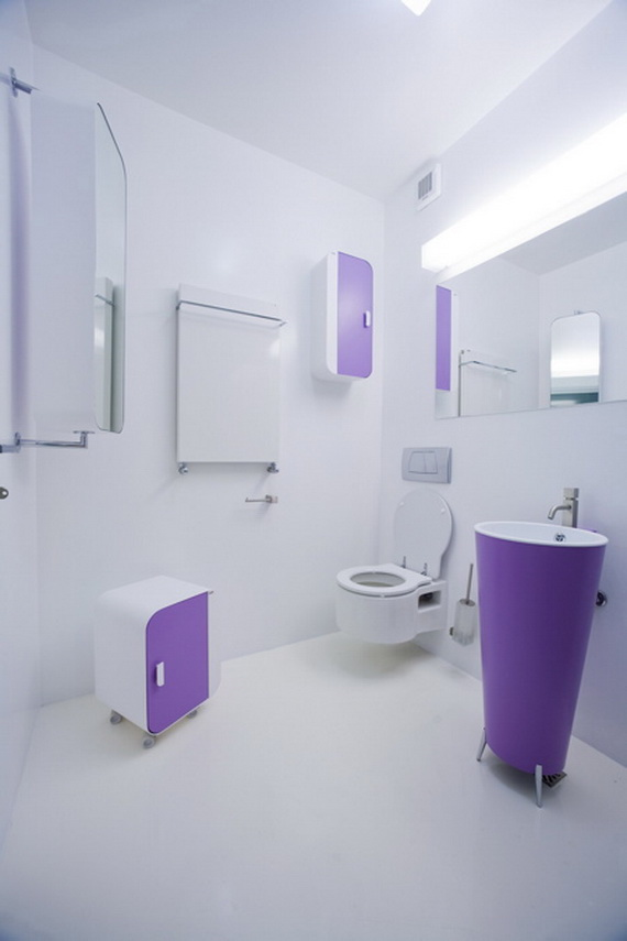 Colorful-Bathroom-Decorating-Ideas_21 Fabulous And Stunning Colorful Bathrooms to Renew Yours
