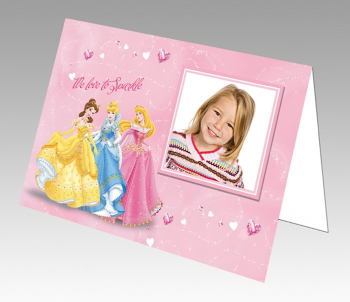 Disney-5x7-Greeting-Card_Princess 50 Most Stylish printable greeting cards