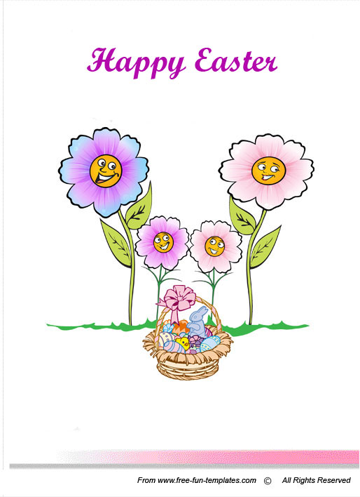 Easter-greeting-card 50 Most Stylish printable greeting cards