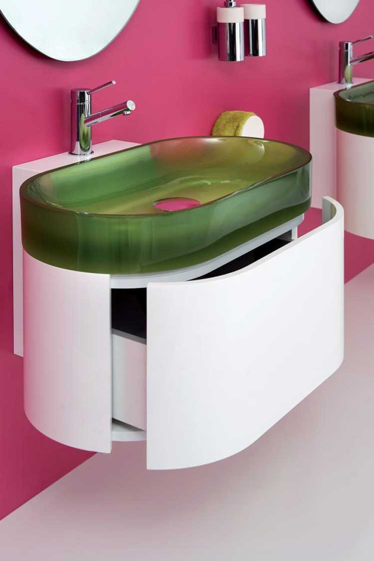 Fabulous-Modern-Bathroom-Sink-Designs Fabulous And Stunning Colorful Bathrooms to Renew Yours