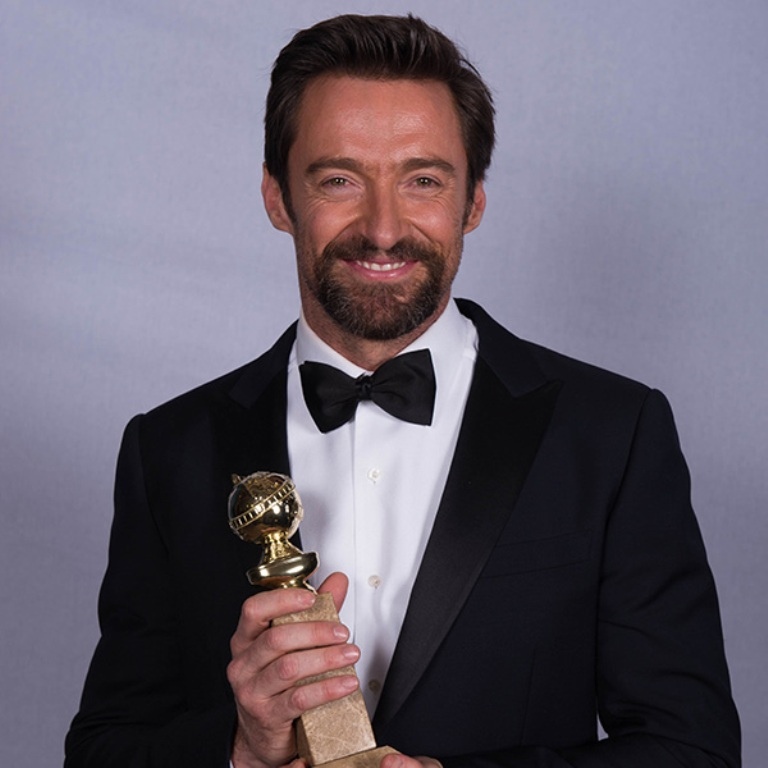 GO-hugh-jackman Golden Globes Award