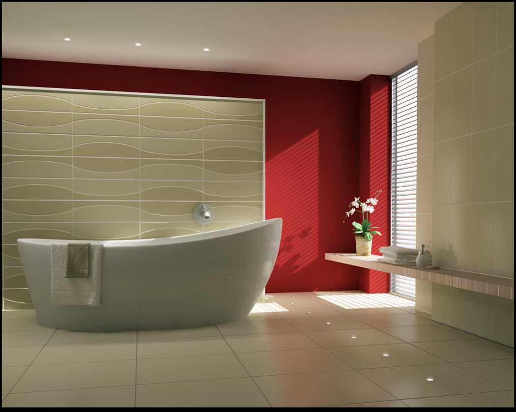 Gorgeous-Inspirational-Bathrooms Fabulous And Stunning Colorful Bathrooms to Renew Yours