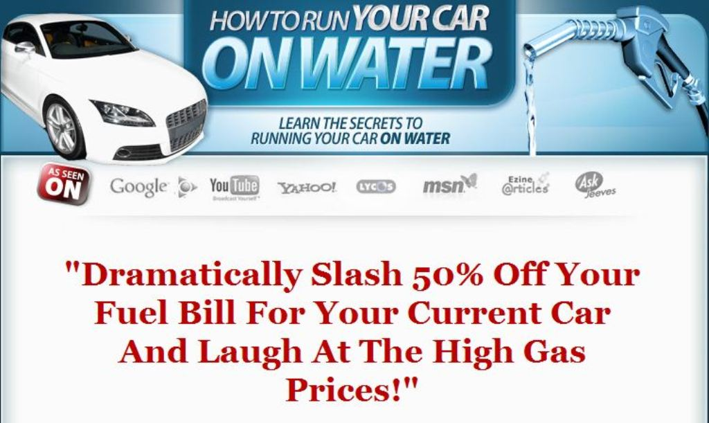 HHOscam Convert Your Car To Run On Water
