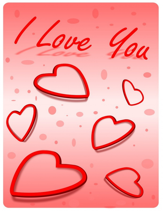 I-Love-You-Hearts-Printable-Background-Wallpaper-Greeting-Card-of-Valentines-Day 50 Most Stylish printable greeting cards