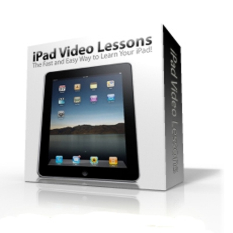 "Ipad-video-lessons-boxed Discover your iPad with ""ipad Video Lessons"""
