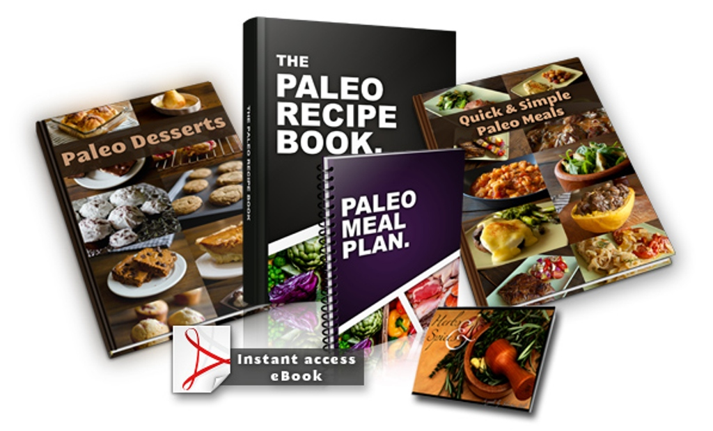 Paleo-Recipe-Book-and-bonuses Lose Weight Easily, Be in Great Shape and More Energetic Using This Paleo Guide
