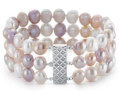 Pearl-purple-peach-1 What Are The Best Types Of Pearls For Evenings And Occasions?