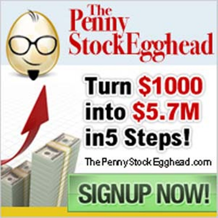 "Penny-Stock-Egghead How to Make Money Using "" The Penny Stock Egghead """
