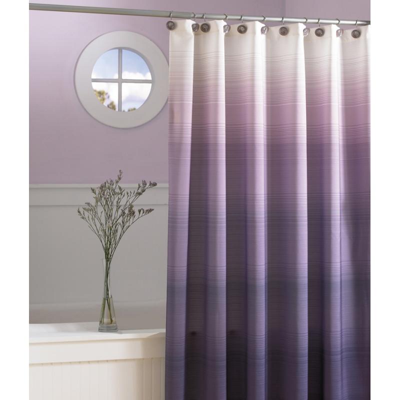 Purple Shower Curtain 2013